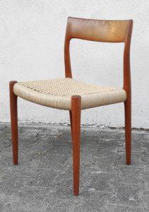 dänischer Stuhl mit Papierschnur